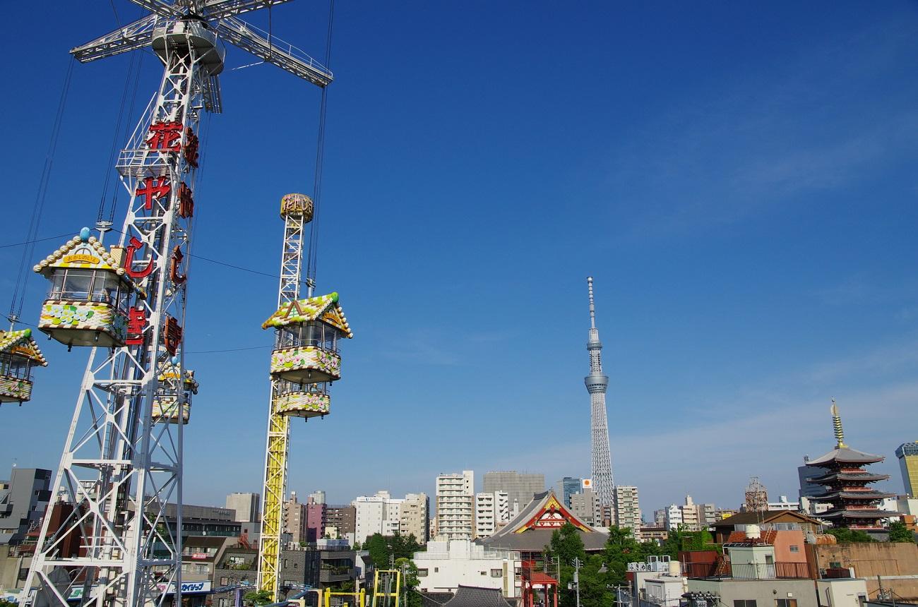 記事花やしきBeeタワー 解体/撤去のイメージ画像