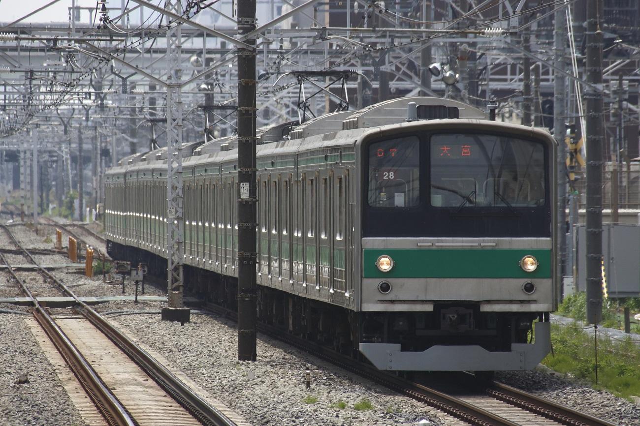 記事埼京線205系 ハエ28編成 引退のイメージ画像
