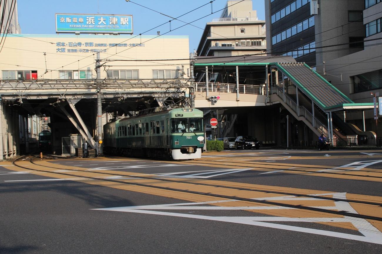 記事京阪大津線 浜大津駅 名称変更のイメージ画像