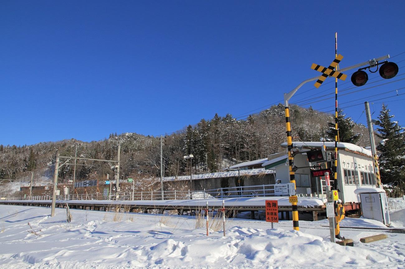 記事大糸線 ヤナバスキー場前駅 廃駅のイメージ画像
