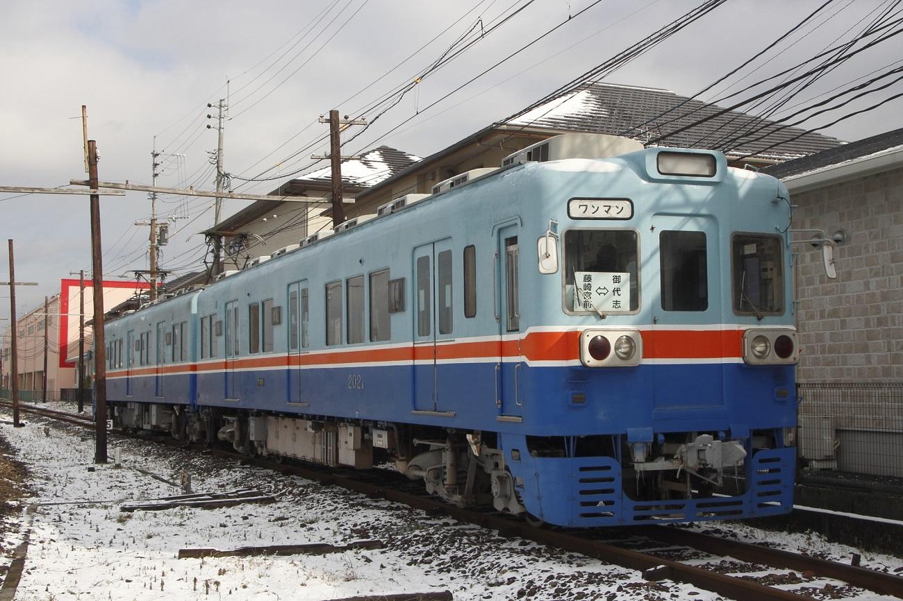記事熊本電鉄 200形電車 運行終了のイメージ画像