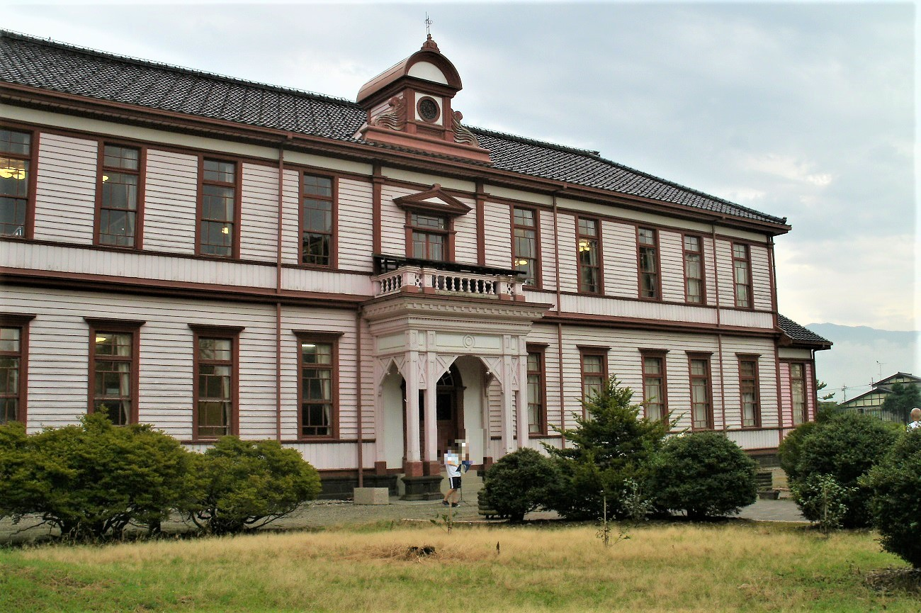 記事富山県立南砺福野高等学校 旧本館 巌浄閣 移築・修復のイメージ画像