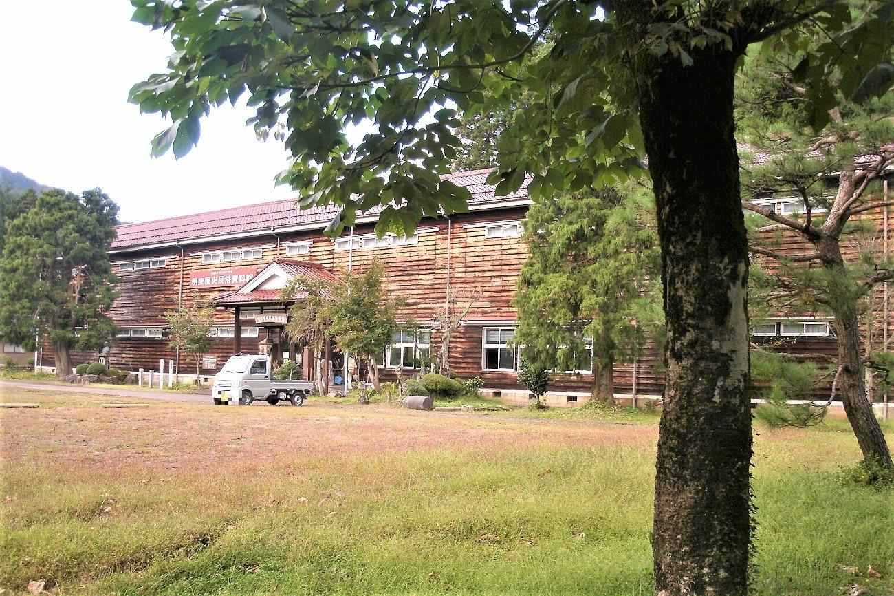 記事旧明方小学校校舎 講堂 引退のイメージ画像