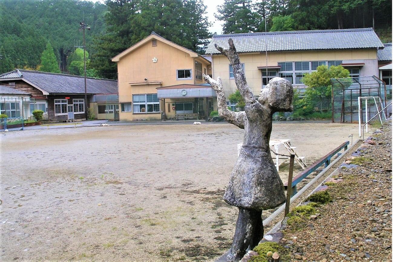 記事振草村立粟代小学校 閉校のイメージ画像