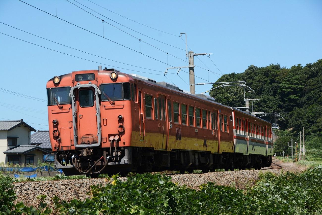 記事JR東日本新潟支社 国鉄色キハ47系 運行終了のイメージ画像