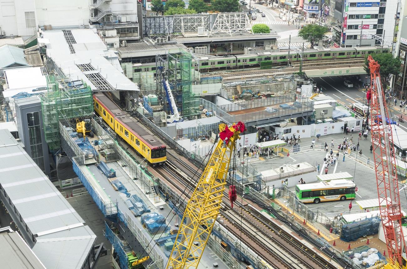 記事東京メトロ銀座線渋谷駅ホーム 営業終了のイメージ画像