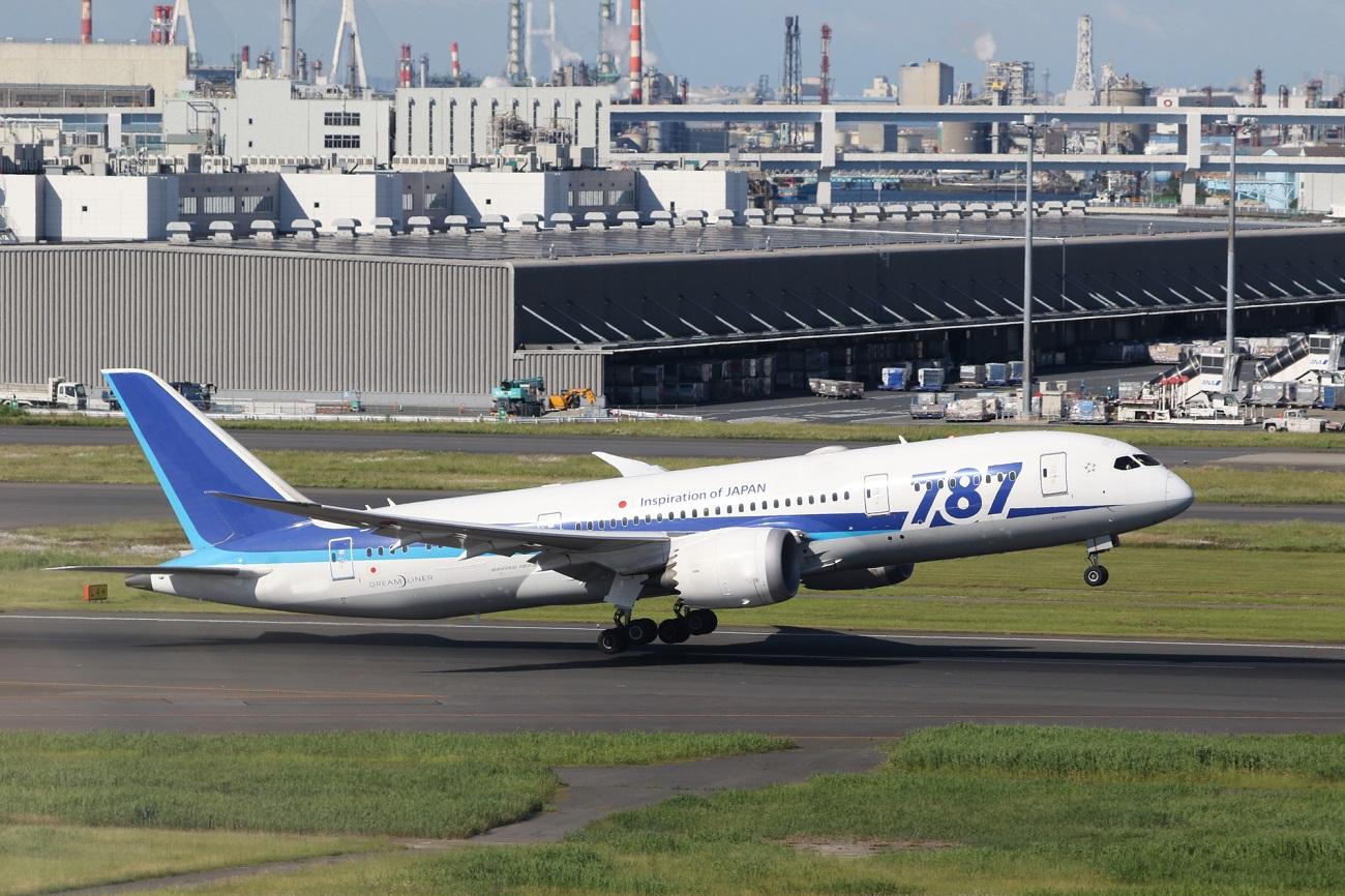 記事全日空 787ロゴ塗装機 ラストフライトのイメージ画像