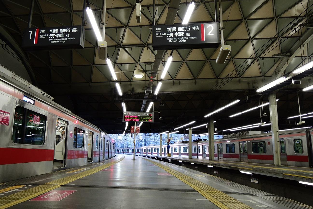 記事東横線 渋谷駅プラットホーム 解体/取壊のイメージ画像