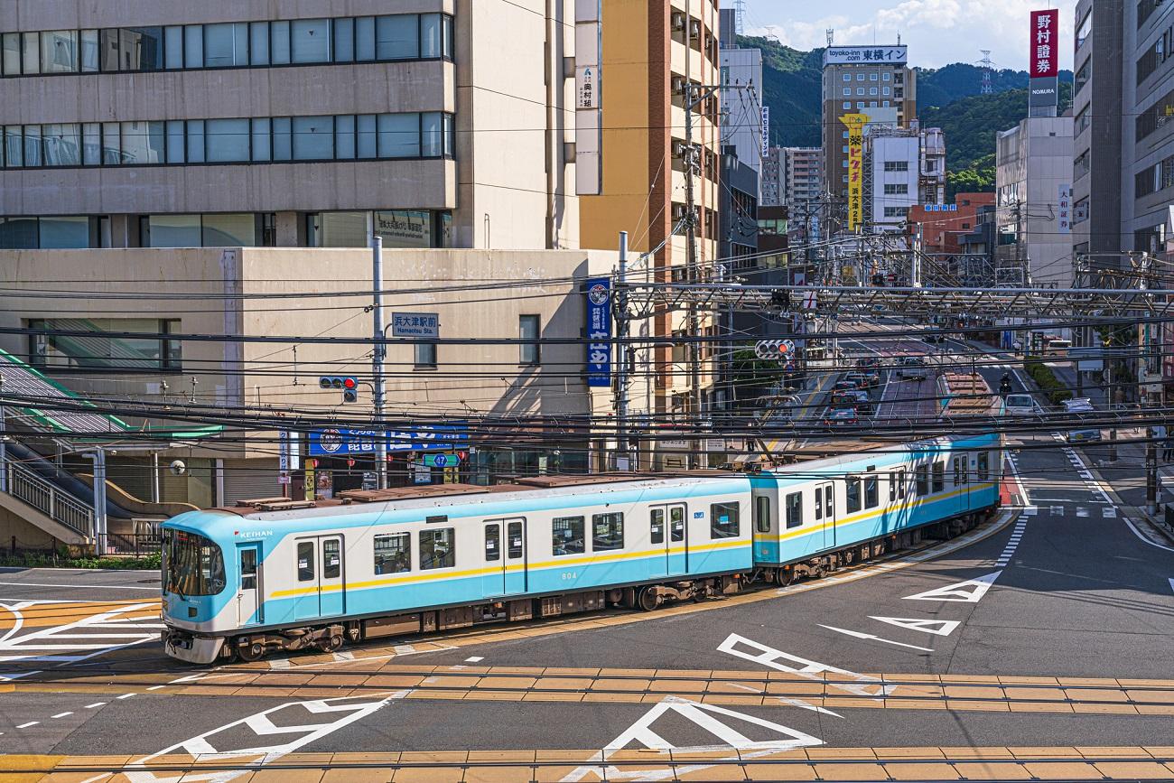 記事:大津線800系旧塗装車 塗装変更のイメージ画像
