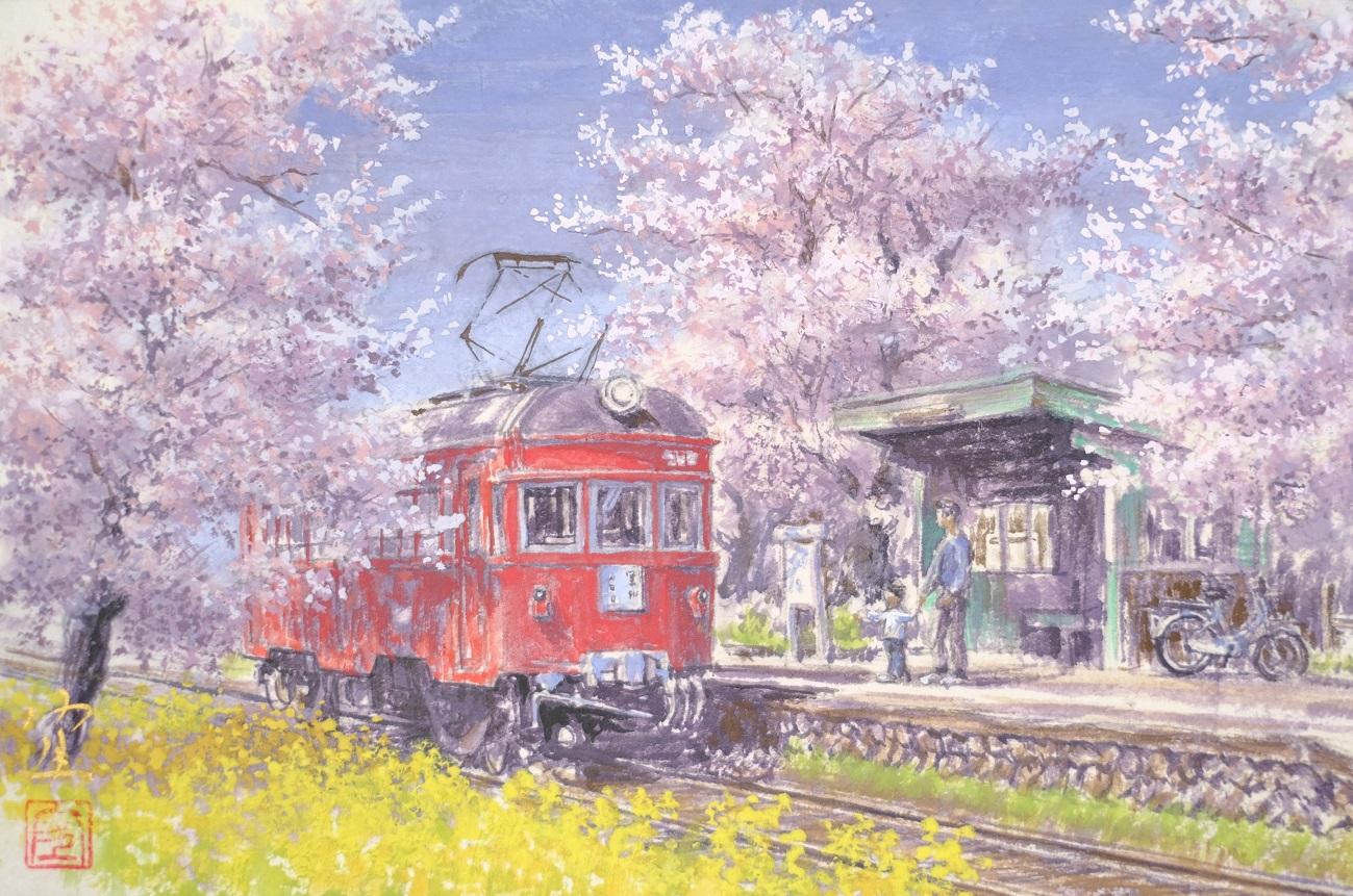記事名鉄揖斐線 廃線のイメージ画像
