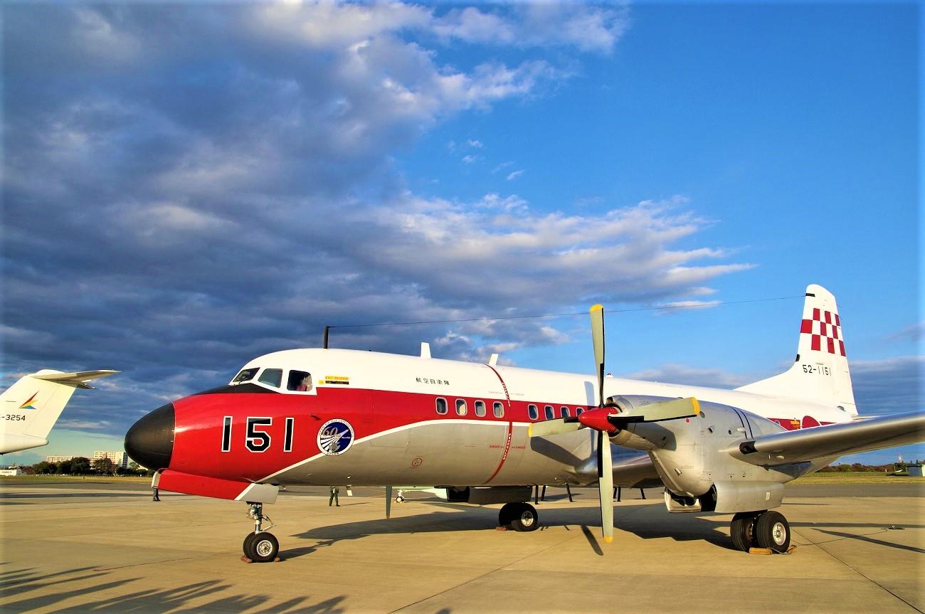記事航空自衛隊 YS-11FC 51号機 退役のイメージ画像