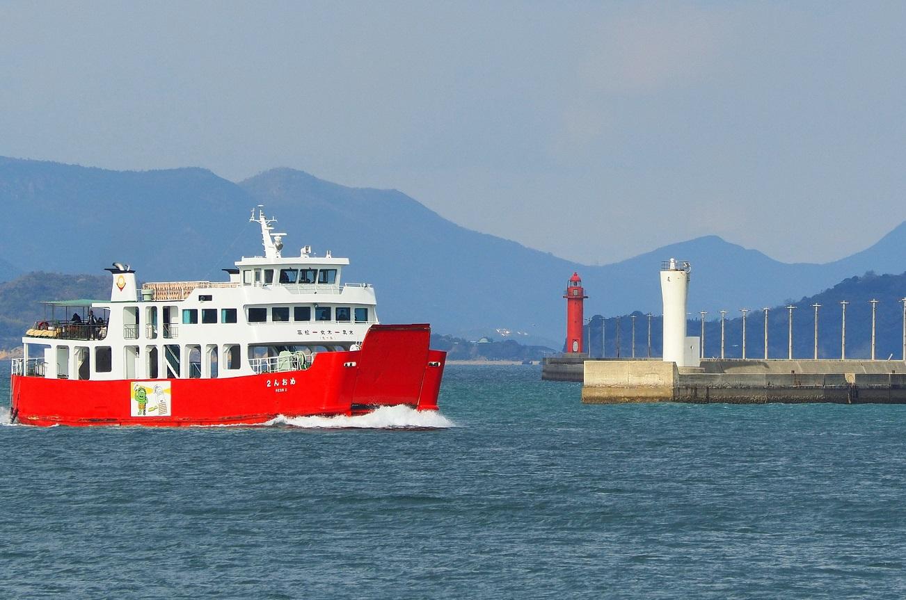 記事雌雄島海運フェリー めおん 引退のイメージ画像