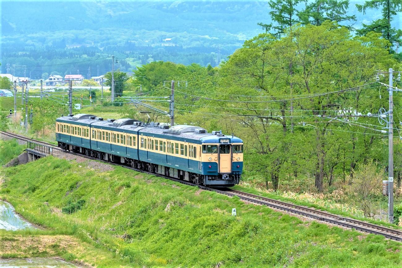 記事しなの鉄道 115系[横須賀色] 引退のイメージ画像