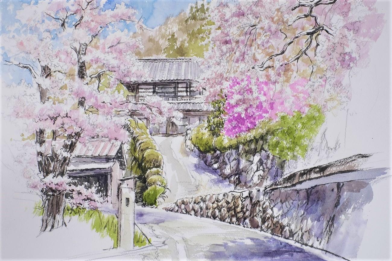 記事-告知- 棚町宜弘 展覧会 「山梨と春 日本画大作展」のイメージ画像