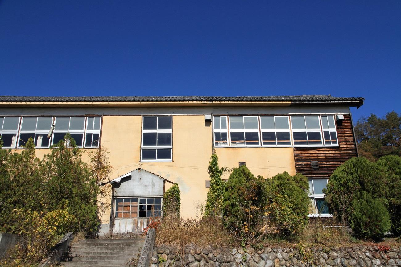 記事四賀村立会田中学校木造校舎 引退のイメージ画像
