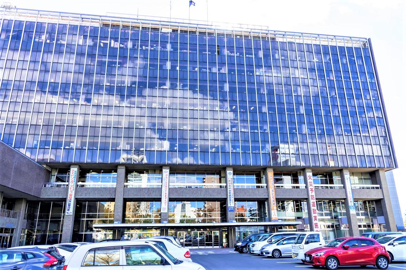 記事岡山市役所本庁舎 取壊/建替のイメージ画像