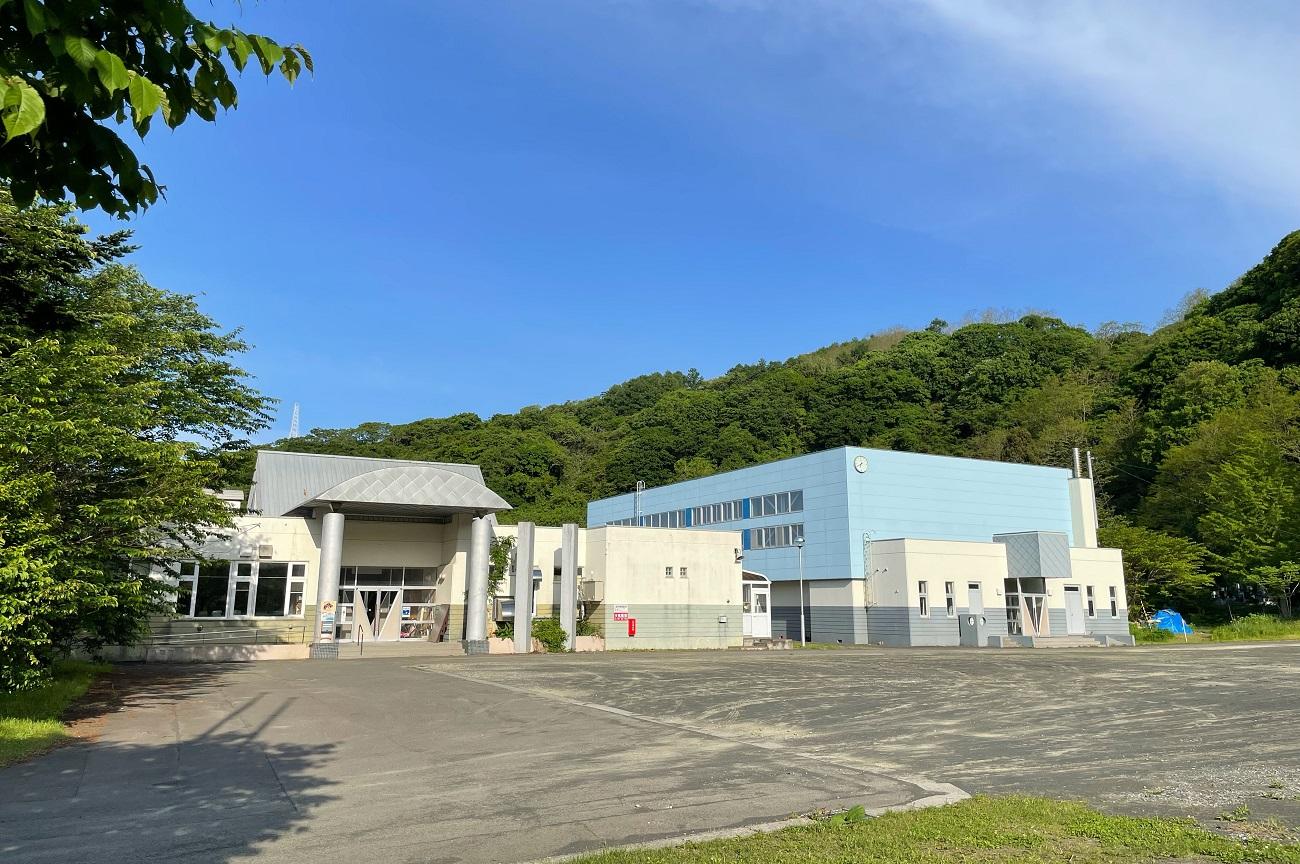 泊村立堀株小学校