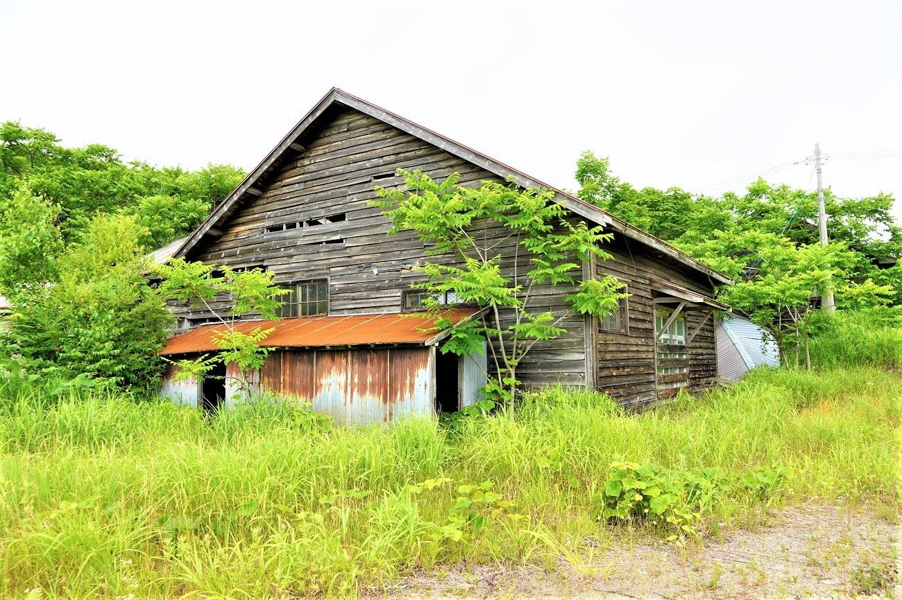 浜益村立幌中学校