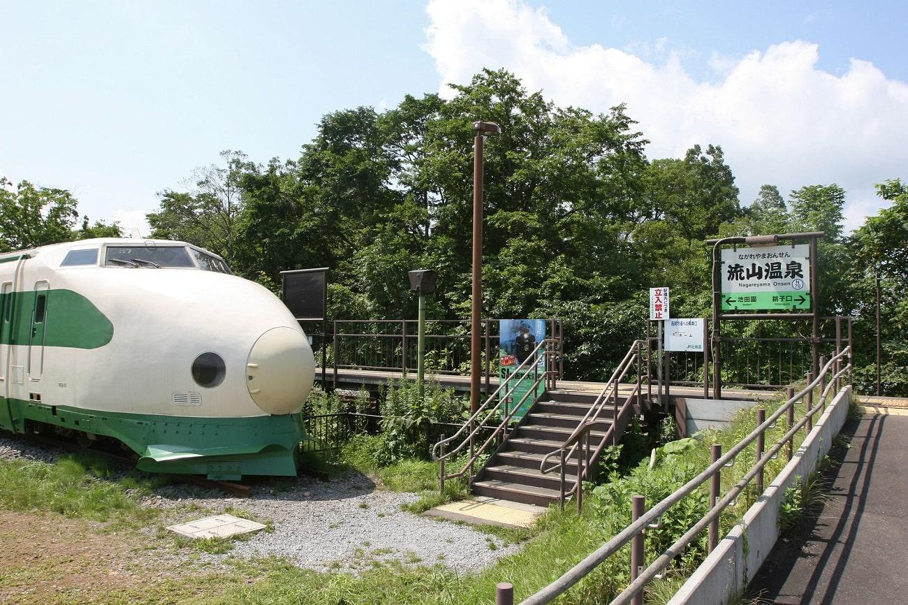 流山温泉駅